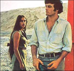 BLOW IT UP - ANTONIONI'S ZABRISKIE POINT- ULTIMATE SUMMER STYLE INSPIRATION- THE EYE OF FAITH VINTAGE BLOG- MARK FRECHETTE : DARIA HALPRIN - HOW TO DRESSS IN THE DUNES - DESERT CHIC