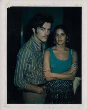 POLAROID - MARK FRECHETTE : DARIA HALPRIN - BEHIND THE SCENES- THE EYE OF FAITH VINTAGE BLOG