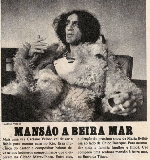 bad ass mens style idol - caetano veloso - the eye of faith vintage blog 1975