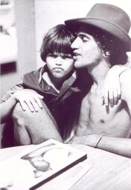 bad ass mens style idol - caetano veloso - the eye of faith vintage blog- father and son