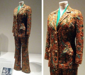 Embroidered Suit- Still Alive Today- Valley of the Dolls- The Eye of Faith Vintage