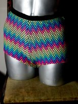 we like to party- the eye of faith vintage- blog-online store- jantzen southside rainbow bathing suit- 7