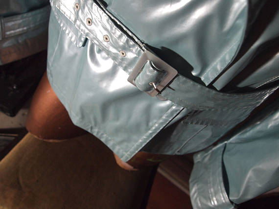 we like to party- the eye of faith vintage- blog-online store- pastel blue pvc motorcycle jacket 2