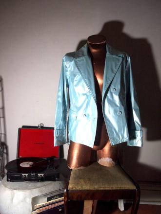 we like to party- the eye of faith vintage- blog-online store- pastel blue pvc motorcycle jacket 4