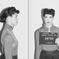 BAD GIRL BEAUTY: Vintage Mugshot Makeup + Hair Inspiration