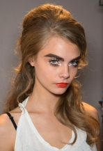 CARA IN MOSCHINO- BAD ASS BEAUTY- BAD GIRL MUGSHOT MAKEUP HAIR INSPIRATION- THE EYE OF FAITH BLOG