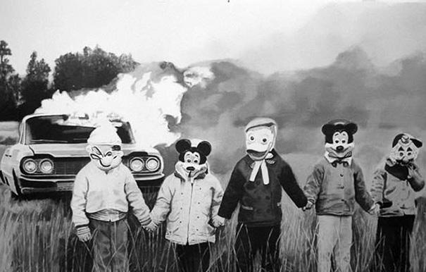 Weird Vintage Halloween Photos 4
