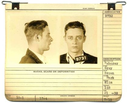 35 VINTAGE MENS MUGSHOT HAIR INSPIRATIONS- The Eye of Faith Vintage Blog - 29