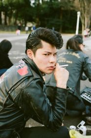 35 VINTAGE MENS MUGSHOT HAIR INSPIRATIONS- The Eye of Faith Vintage Blog - Japanese Rockabilly Dude