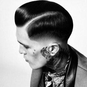 35 VINTAGE MENS MUGSHOT HAIR INSPIRATIONS- The Eye of Faith Vintage Blog - Tattoo Rockabilly Dude