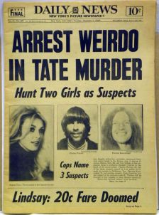 DING DONG CHARLES MANSON IS DEAD- THE EYE OF FAITH VINTAGE BLOG - HEADLINES 10