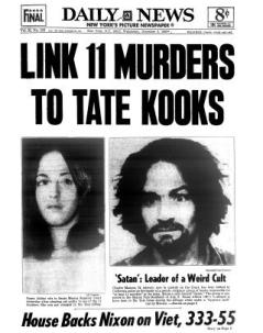 DING DONG CHARLES MANSON IS DEAD- THE EYE OF FAITH VINTAGE BLOG - HEADLINES 11