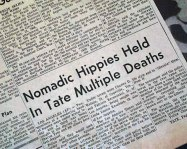 DING DONG CHARLES MANSON IS DEAD- THE EYE OF FAITH VINTAGE BLOG - HEADLINES 13