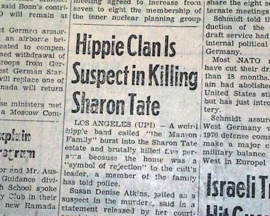 DING DONG CHARLES MANSON IS DEAD- THE EYE OF FAITH VINTAGE BLOG - HEADLINES 17