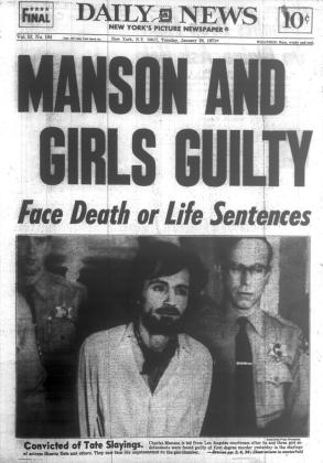 DING DONG CHARLES MANSON IS DEAD- THE EYE OF FAITH VINTAGE BLOG - HEADLINES 20