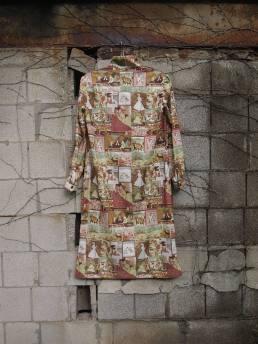The Eye of Faith Vintage Blog Shop- 1970s Vintage Kama Sutra Graphic Print Tunic Long Shirt-5