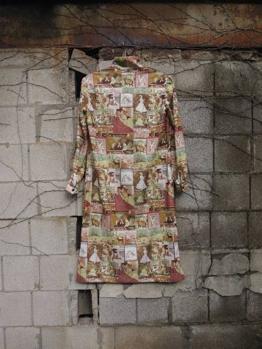 The Eye of Faith Vintage Blog Shop- 1970s Vintage Kama Sutra Graphic Print Tunic Long Shirt-5