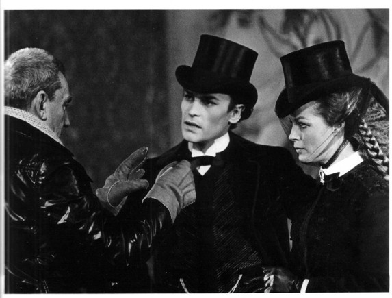 E.O.F. STYLE IDOL - HELMUT BERGER - THE EYE OF FAITH VINTAGE STYLE BLOG- All Men Look Best With a Top Hat
