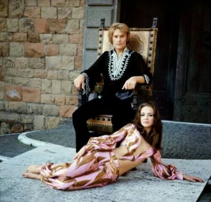 E.O.F. STYLE IDOL - HELMUT BERGER - THE EYE OF FAITH VINTAGE STYLE BLOG- Boho King