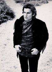 E.O.F. STYLE IDOL - HELMUT BERGER - THE EYE OF FAITH VINTAGE STYLE BLOG- Fantastic Fringe Jacket