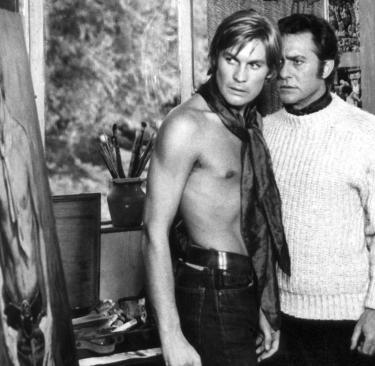 E.O.F. STYLE IDOL - HELMUT BERGER - THE EYE OF FAITH VINTAGE STYLE BLOG- The Picture of Dorian Gray