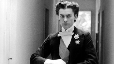 E.O.F. STYLE IDOL - HELMUT BERGER - THE EYE OF FAITH VINTAGE STYLE BLOG- Wicked Hair for LUDWIG by Visconti