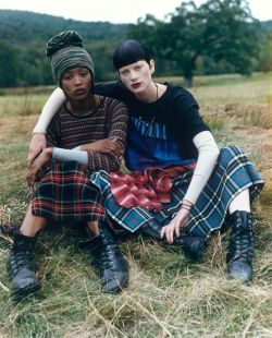 Grune Glory- Steven Meisel Vogue 90s Editorial- The Eye of Faith Vintage Blog- Clothing and Lifestyle Inspiration 3