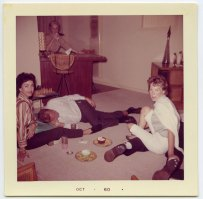 PARTY PEOPLE- THE EYE OF FAITH VINTAGE STYLE BLOG- 1960 Taking Care of Johnny