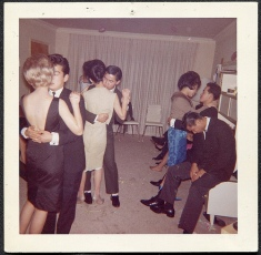 PARTY PEOPLE- THE EYE OF FAITH VINTAGE STYLE BLOG- 1960s Houseparty Slow Dance