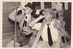 PARTY PEOPLE- THE EYE OF FAITH VINTAGE STYLE BLOG- Drink Up Fellas