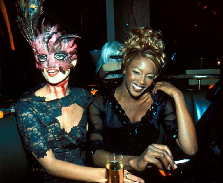 PARTY PEOPLE- THE EYE OF FAITH VINTAGE STYLE BLOG-New York-Halloween Party-1995_5