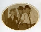 PARTY PEOPLE- THE EYE OF FAITH VINTAGE STYLE BLOG- Ultimate Party Crew- 1920s Three musketeers
