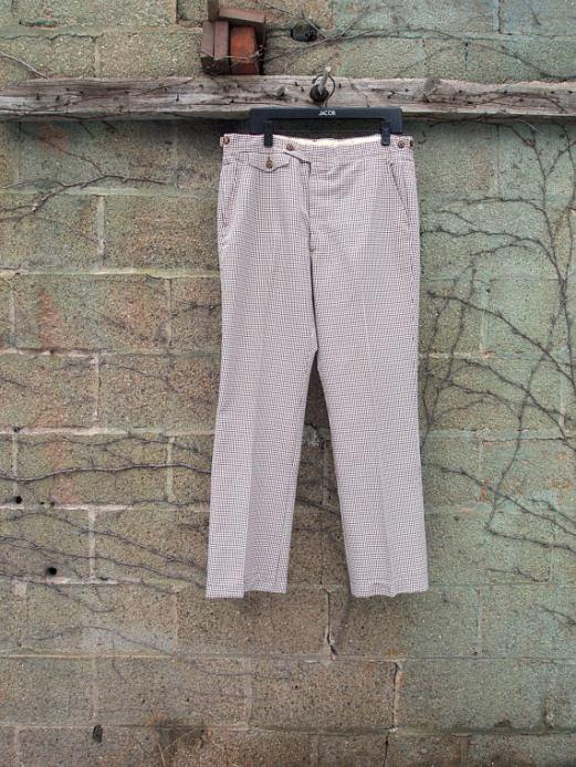 The Eye of Faith Vintage Blog Shop- Style Inspiration- Shy Guy 1947- Plaid Trouser