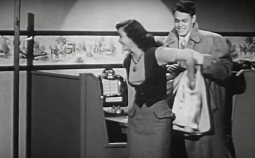the eye of faith vintage blog shop- style inspiration- vintage 1940s educational psa- self-conscious guy - 1951-12
