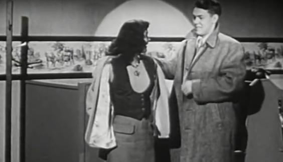 the eye of faith vintage blog shop- style inspiration- vintage 1940s educational psa- self-conscious guy - 1951-14