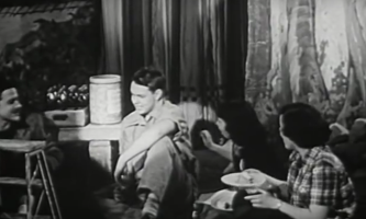 the eye of faith vintage blog shop- style inspiration- vintage 1940s educational psa- self-conscious guy - 1951-3