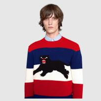 the eye of faith vintage blog shop- style inspiration- vintage 1940s educational psa- self-conscious guy - 1951-gucci panther sweater 2