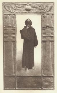 lavartus prodeo - the eye of faith vintage blog shop- style inspiration-masked style photo blast- aleister crowley- secret society-black magic