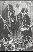 lavartus prodeo - the eye of faith vintage blog shop- style inspiration-masked style photo blast- satanic black magic rites