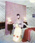 lavartus prodeo - the eye of faith vintage blog shop- style inspiration-masked style photo blast- strange bedroom behaviour