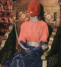 lavartus prodeo - the eye of faith vintage blog shop- style inspiration-masked style photo blast- the queen is sleeping