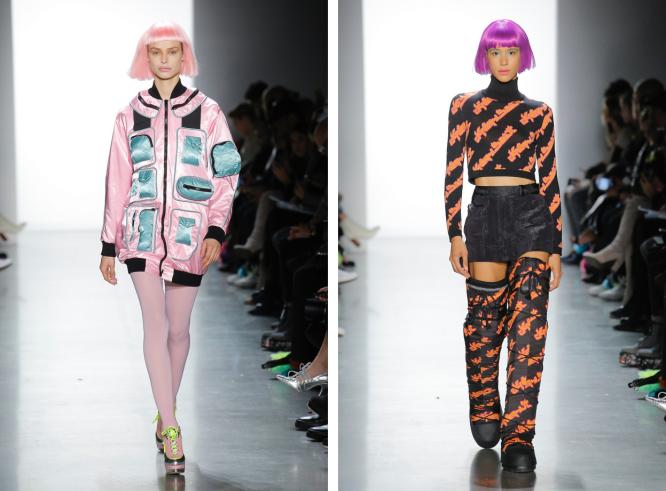 The Eye of Faith Vintage Blog Shop - Style Inspiration - Retro Future 90s Fashion-Jeremy Scott AW 2018-Zenon Vibes