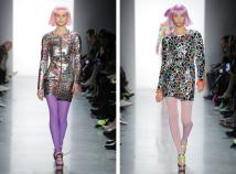 The Eye of Faith Vintage Blog Shop - Style Inspiration - Retro Future 90s Fashion-Jeremy Scott AW 2018-Zenon