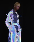 The Eye of Faith Vintage Blog Shop - Style Inspiration - Retro Future 90s Fashion- Maison Margiela Couture FW 2018-holograminsanity