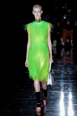 The Eye of Faith Vintage Blog Shop - Style Inspiration - Retro Future 90s Fashion- Prada AW 2018- Bad Ass Sci Fi Dress