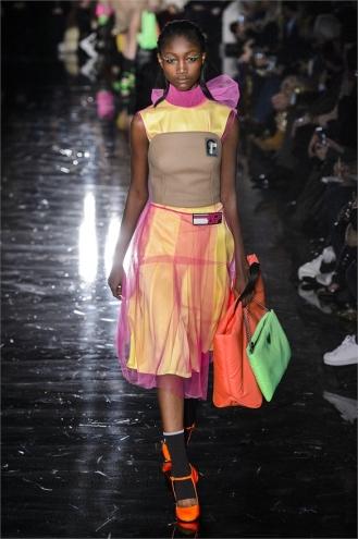 The Eye of Faith Vintage Blog Shop - Style Inspiration - Retro Future 90s Fashion- Prada AW 2018- Millenial Sci Fi Vibe