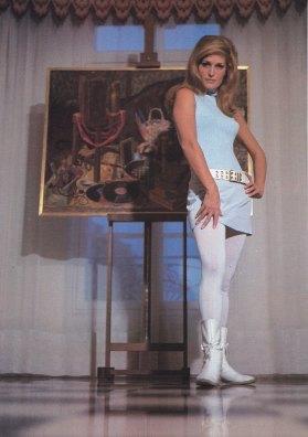 The Eye of Faith Vintage Style Inspiration Blog Shop- Iconic Diva- DALIDA - its a true work of art