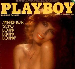 The Eye of Faith Vintage Blog Shop- Music Minute- Amanda Lear - Style Icon- 2- playboy cover