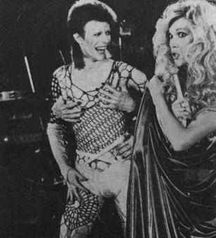 The Eye of Faith Vintage Blog Shop- Music Minute- Amanda Lear - Style Icon- WITH BOWIE