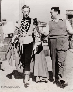 The Eye of Faith Vintage Blog Shop- Style Inspiration- Romeo and Juliet- Bad Ass Menswear- Medieval- 1936 John Barrymore and Leslie Howard- Romeo Style 2